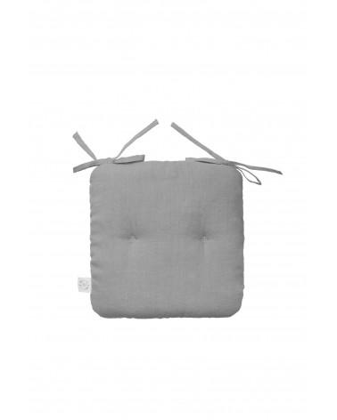 Lniana Poduszka na Krzesełko z Wiązana